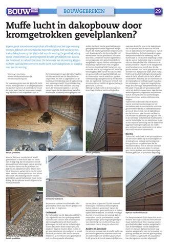 page 29 bouwgebreken 29 muffe lucht