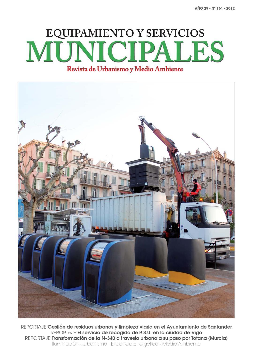Equipamiento Y Servicios Municipales N 161 By Equipamiento Y  # Muebles Gabarre Huesca