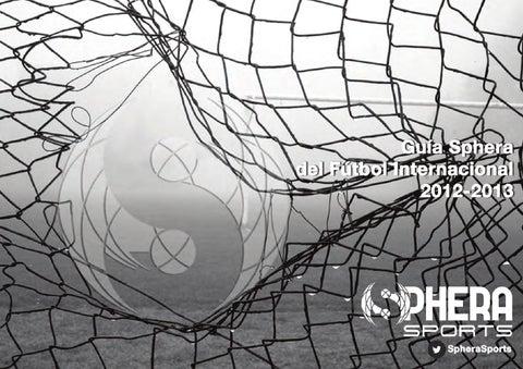 b146131bc GUIA SPHERA 2012-2013  Edición Final  by Sphera Sports - issuu