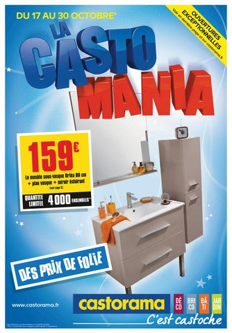 Castorama catalogue 17 30 octobre 2012 by promocatalogues for Castorama vitrolles catalogue