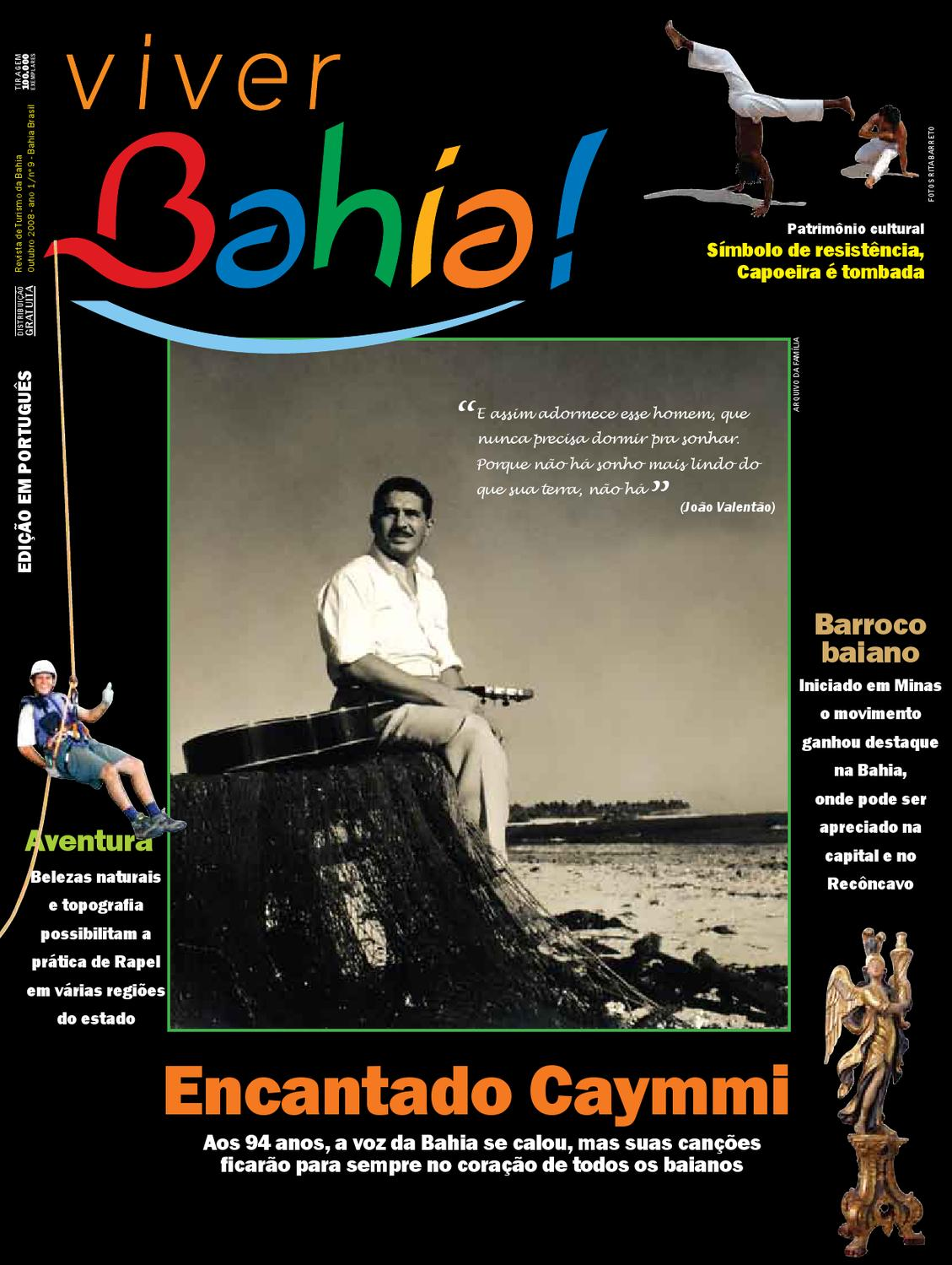 Viver Bahia - Nº09 by Secretaria de Turismo da Bahia - issuu