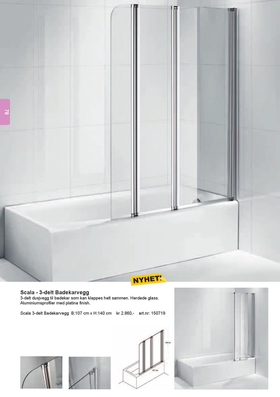 Helt nye Scala Bad Katalog 2013 by Viscom - issuu DH-87