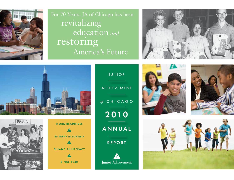 Eberhart Salle De Bain ja of chicago 2010 annual reportjunior achievement of
