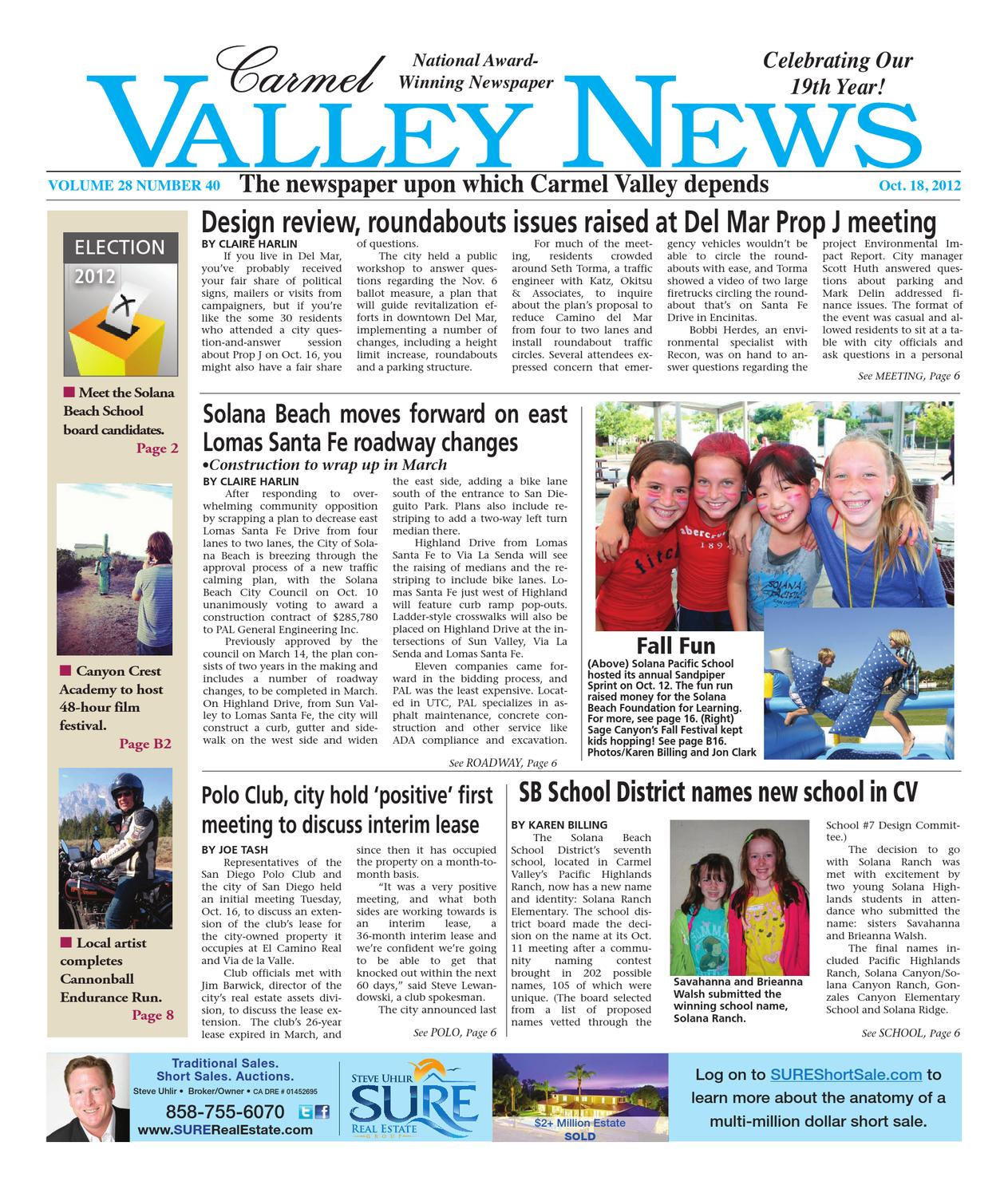 Carmel valley news 101812 by mainstreet media issuu malvernweather Choice Image