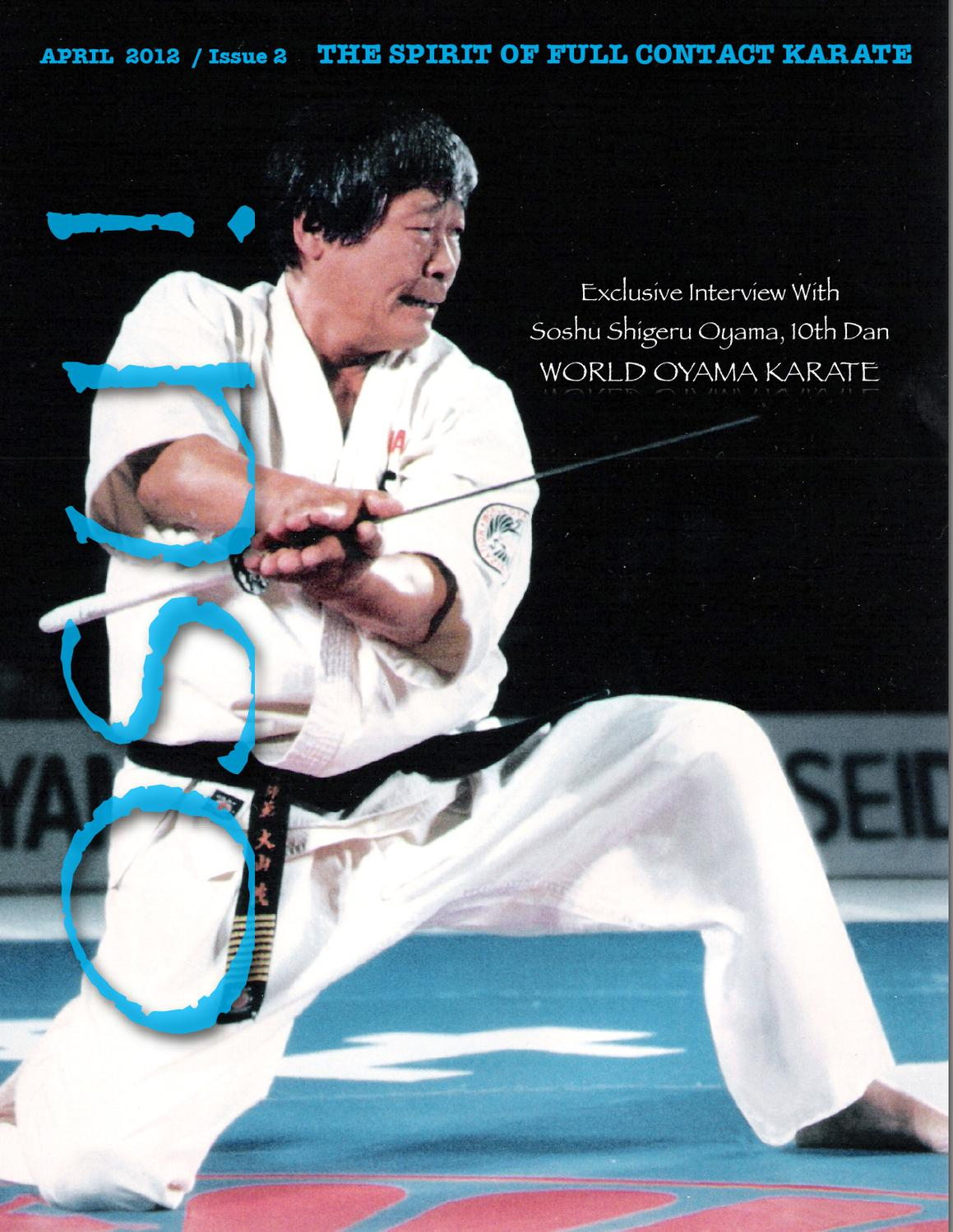 Used Japanese Martial Arts Kyokusin Karate Sport Kihon Beginners Masutatsu Oyama