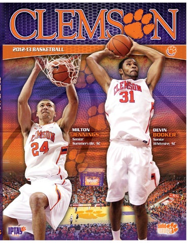 2012-13 Men s Basketball Media Guide by Clemson Tigers - issuu 97c24a8d4b58