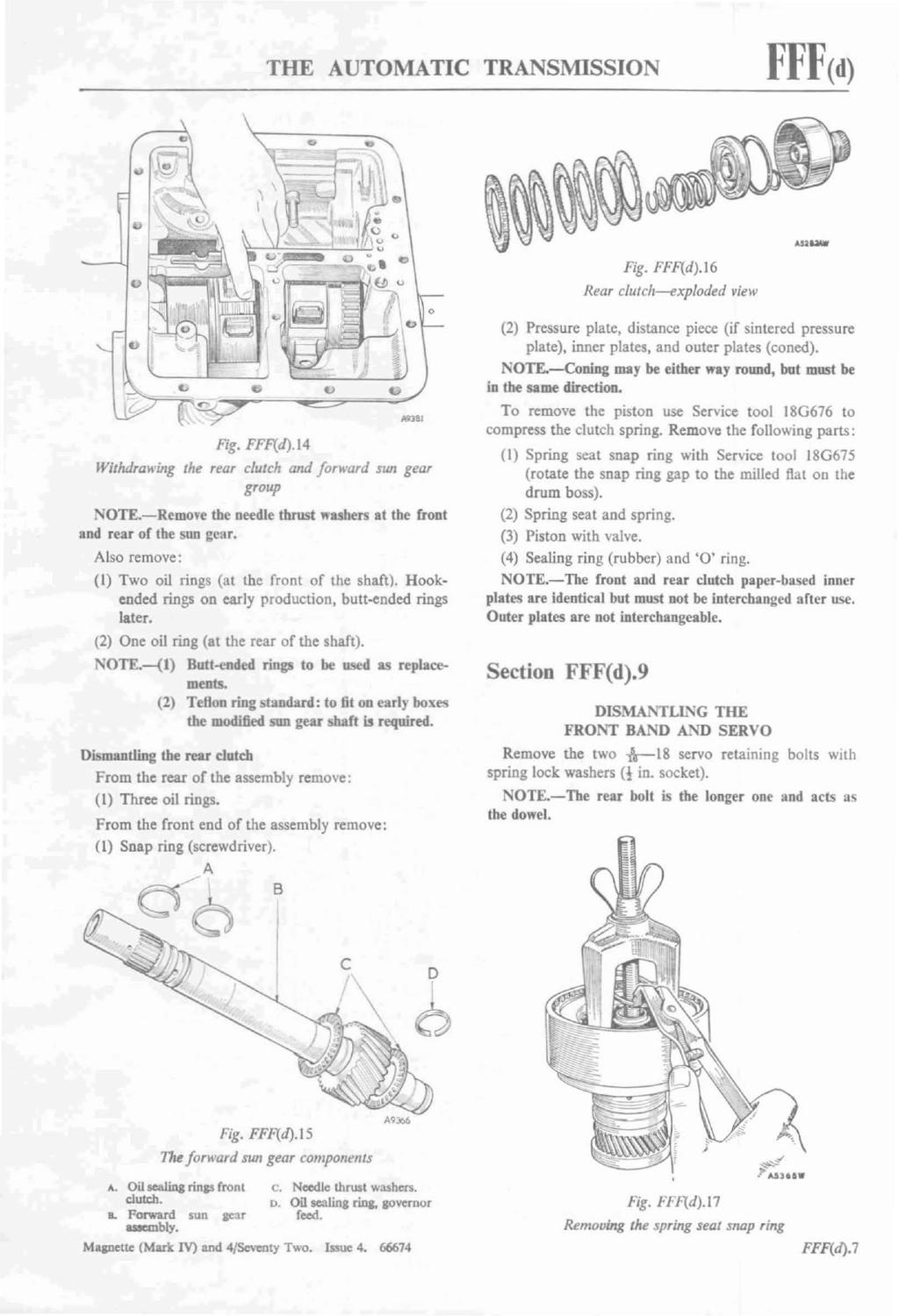 Bmc Auto By Morris Oxford Issuu Manual Transmission Clutch Diagram 1 Exploded View Of The