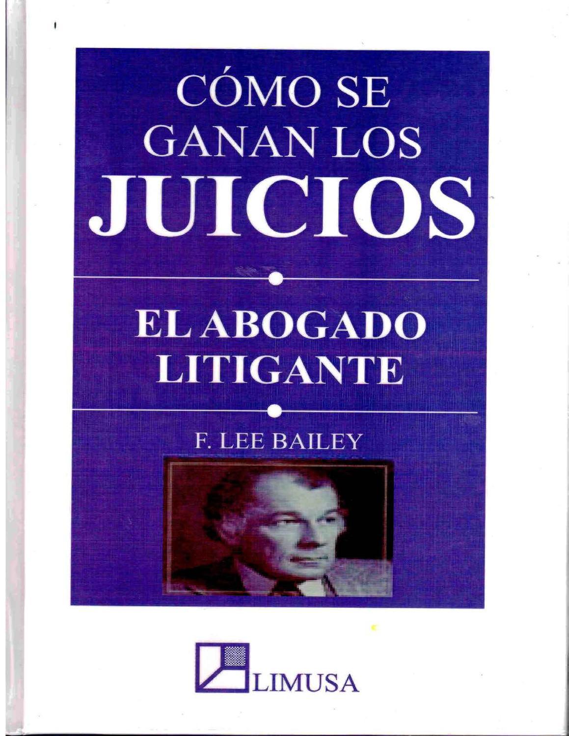 COMO SE GANAN LOS JUICIOS by SUSAN TAFUR - issuu