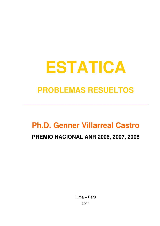 problemas estatica by Eder Aleixo Lamadrid Herrera - issuu