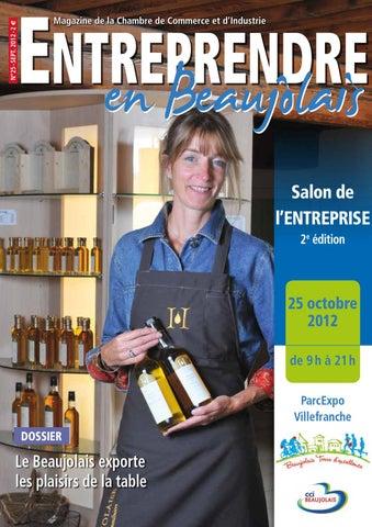 Entreprendre en beaujolais by cci du beaujolais issuu - Chambre de commerce de villefranche ...
