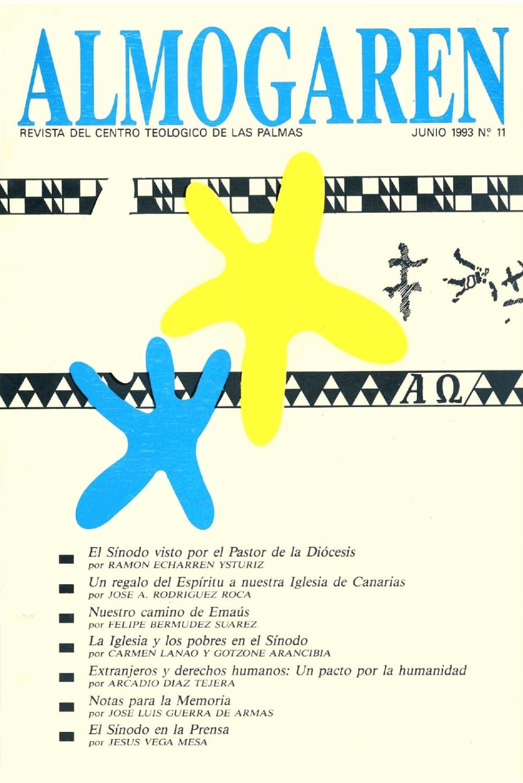 Almogaren 11, 1993 by Biblioteca- Centro Teológico de Las Palmas - issuu