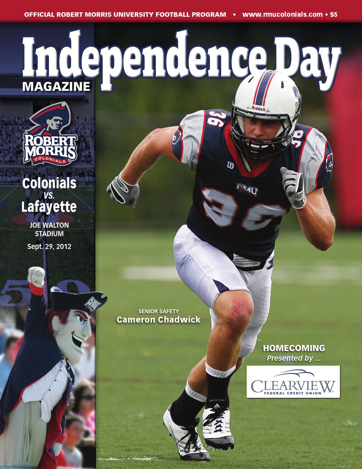 Independence Day Magazine (9/29/12) by Robert Morris ...