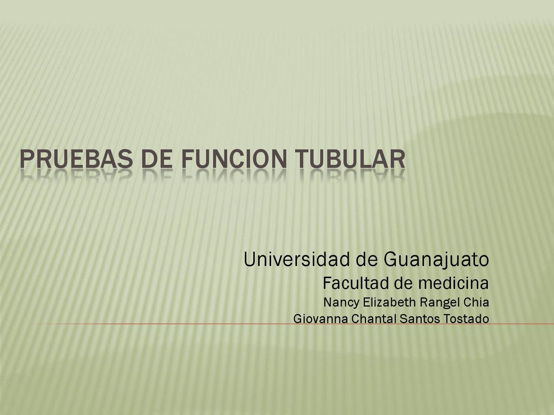 secreción tubular diabetes del túbulo proximal