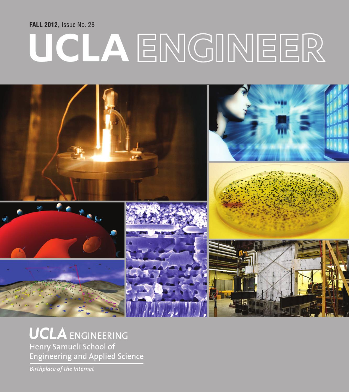 Ucla Engineer Fall 2012 By Engineering Issuu Electrical 4 Year Plan
