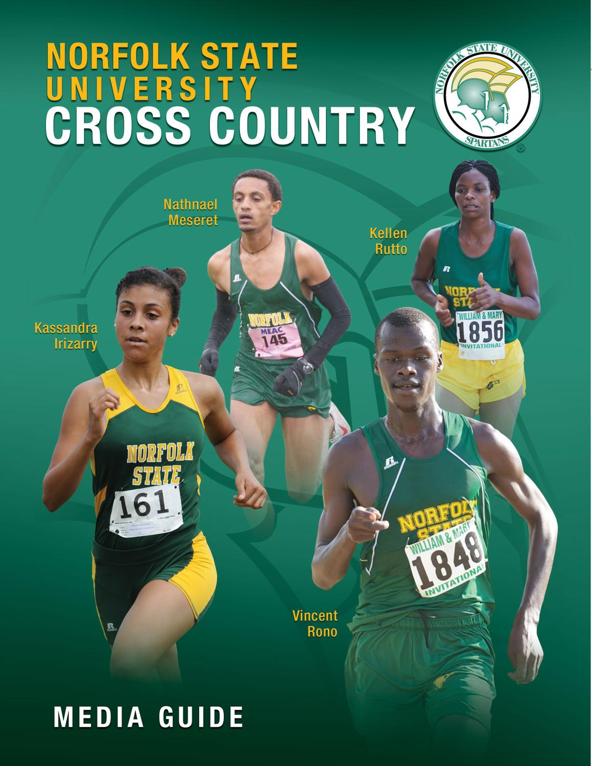 2012 NSU Cross Country Media Guide by Chaundrea Lee - Issuu