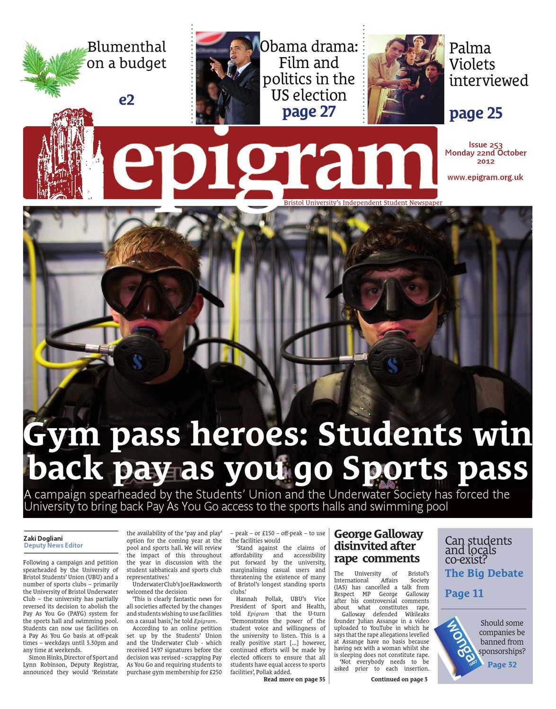 Epigram 253 By Epigram Issuu