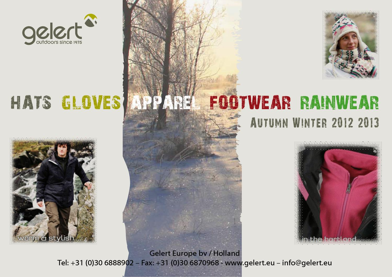 GELERT AW 2012 Promotion by Gelert Europe - issuu ee0ff1ae4476