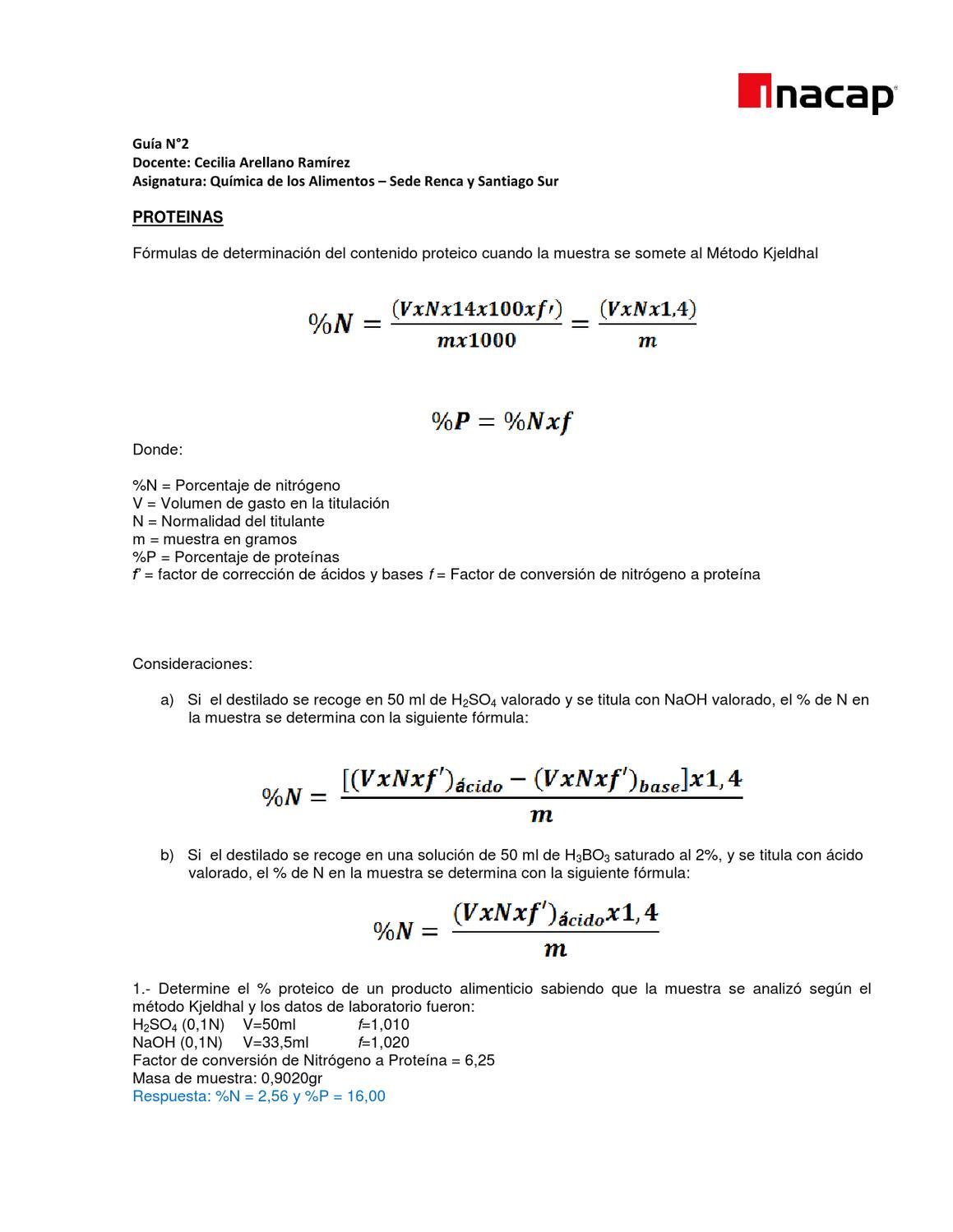 Super Guía de ejercicios Química de Alimentos by Cecilia Arellano - issuu NV97