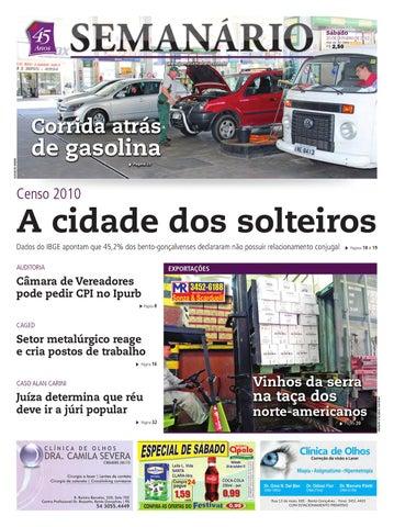 eb12330b239 20 10 2012 - Jornal Semanário by Jornal Semanário - Bento Gonçalves ...