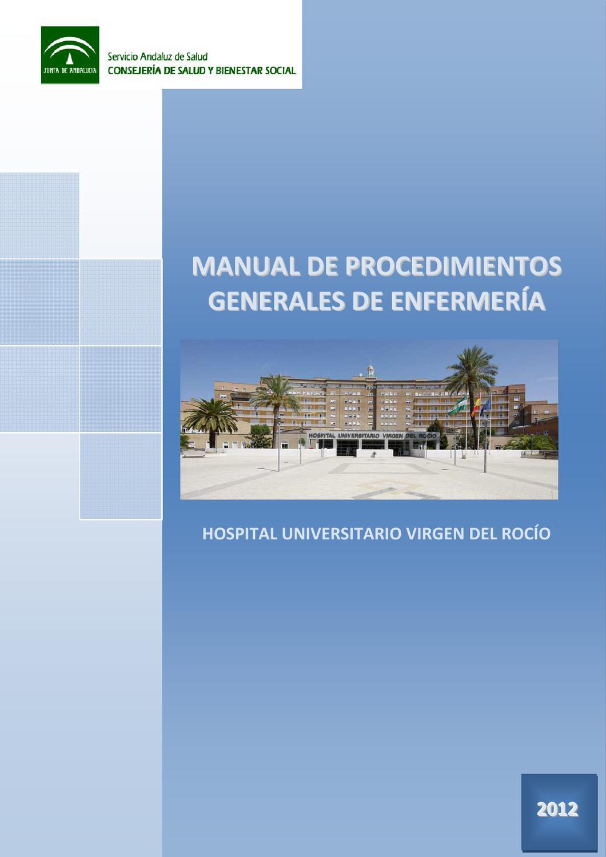 Manual de Procedimientos Generales de Enfermería by Biblitoeca hrs ...