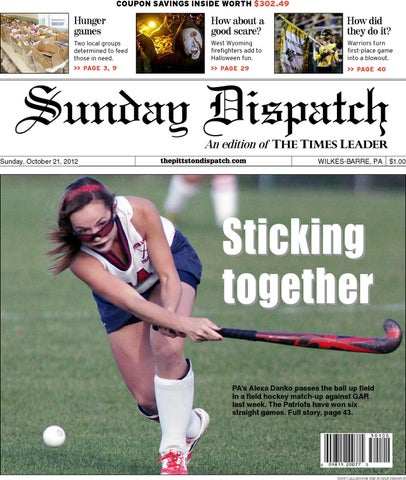 The Pittston Dispatch 10-21-2012 by The Wilkes-Barre Publishing ... febf61960