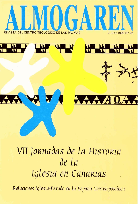 Almogaren 22 1998 By Biblioteca Centro Teol Gico De Las Palmas  # Muebles Dadaglio