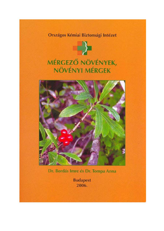 Mérgező növények növényi mérgek by Mária Katona - issuu 22e9b26338