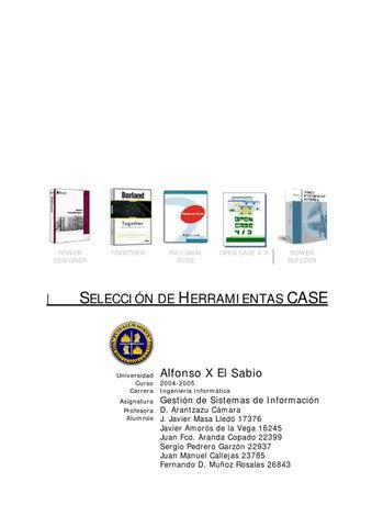 herramientas case by ingenieria informatica issuu