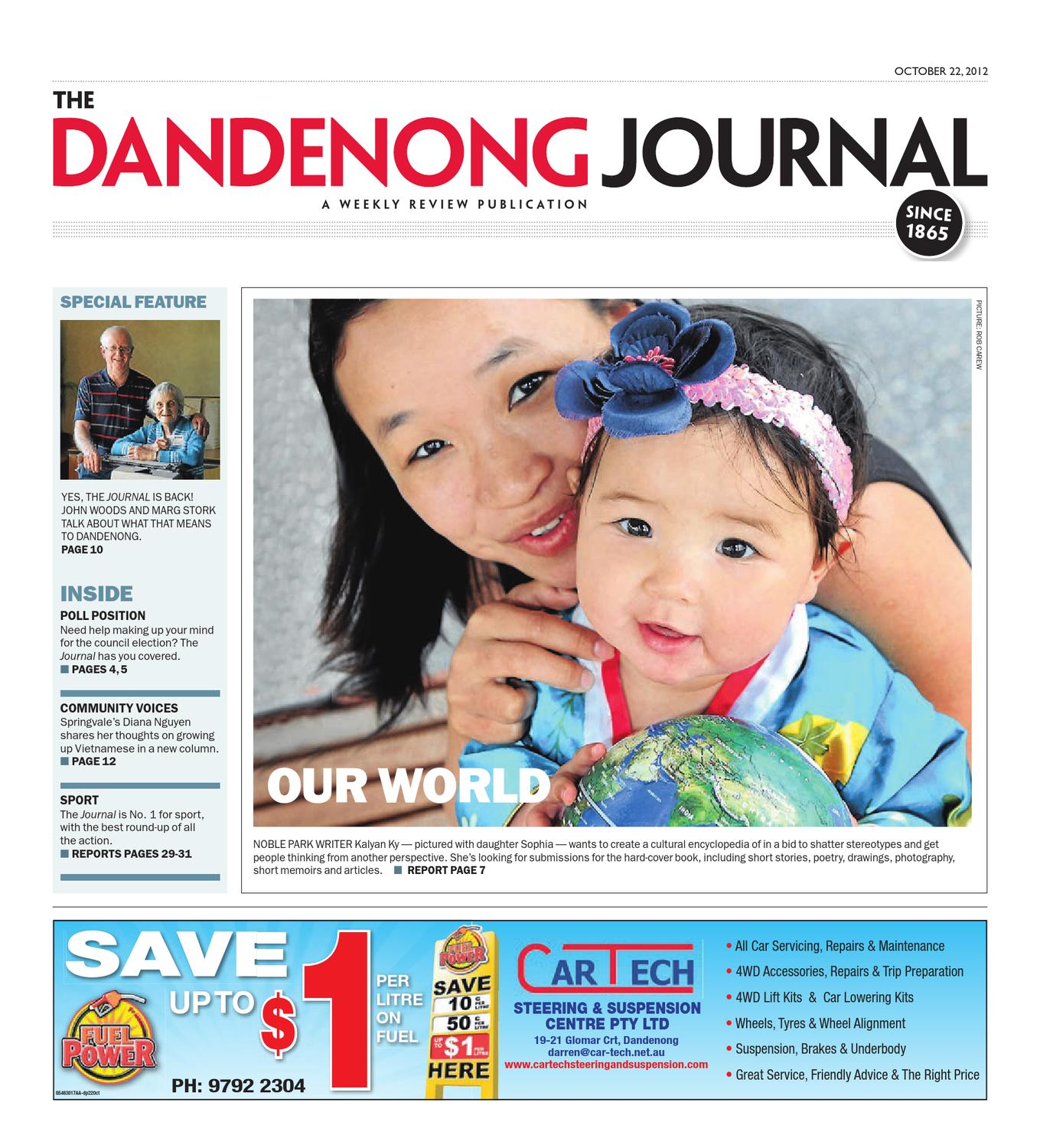 The Dandenong Journal 22 10 2012 By Weekly Review Issuu Tachometer Tach Printed Circuit Repair Board 7577 Usa Made Willcox