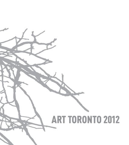 9dd176a64462 Art Toronto 2012 Catalogue by Art Toronto - issuu