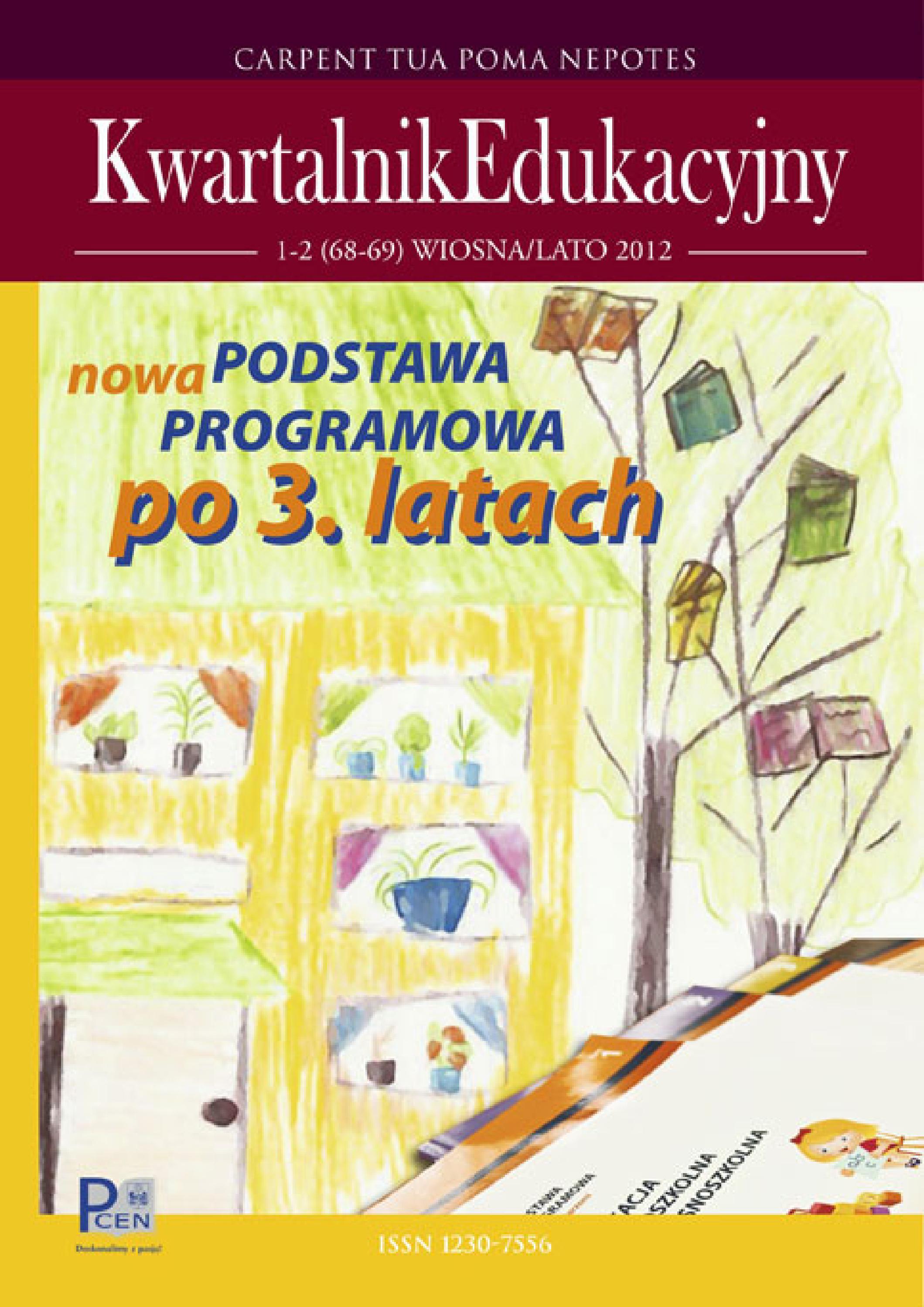 Kwartalnik Edukacyjny Nr 68 69 By Pcen W Rzeszowie Issuu