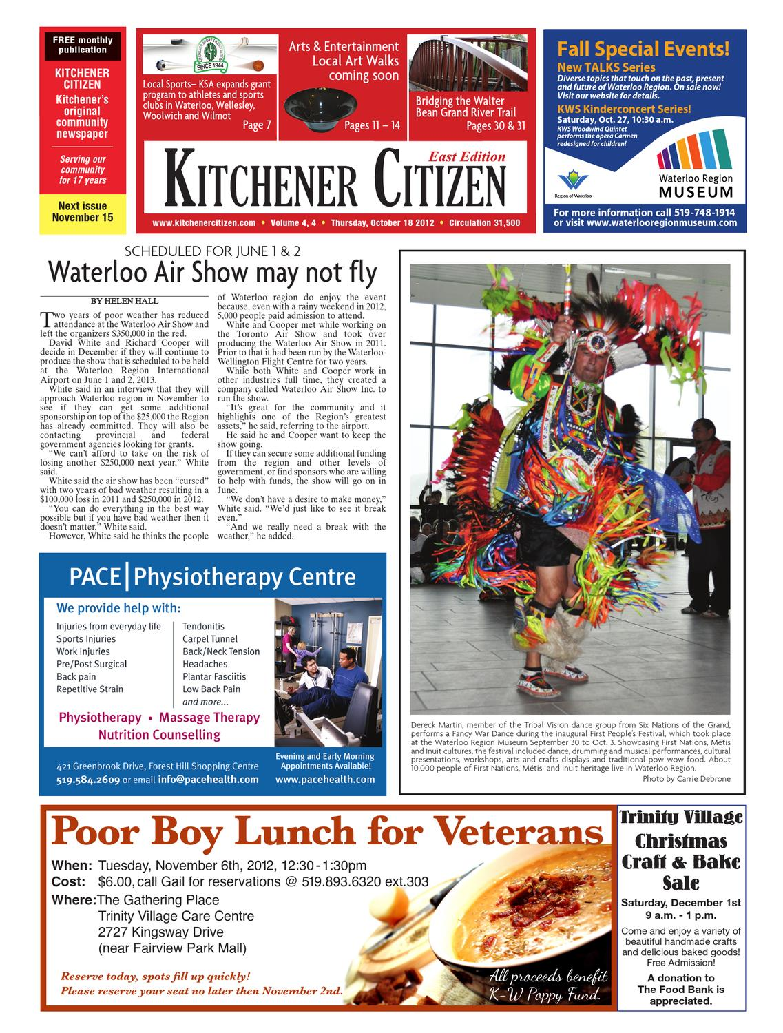 Kitchener Citizen East Edition - October 2012 by Kitchener Citizen ...
