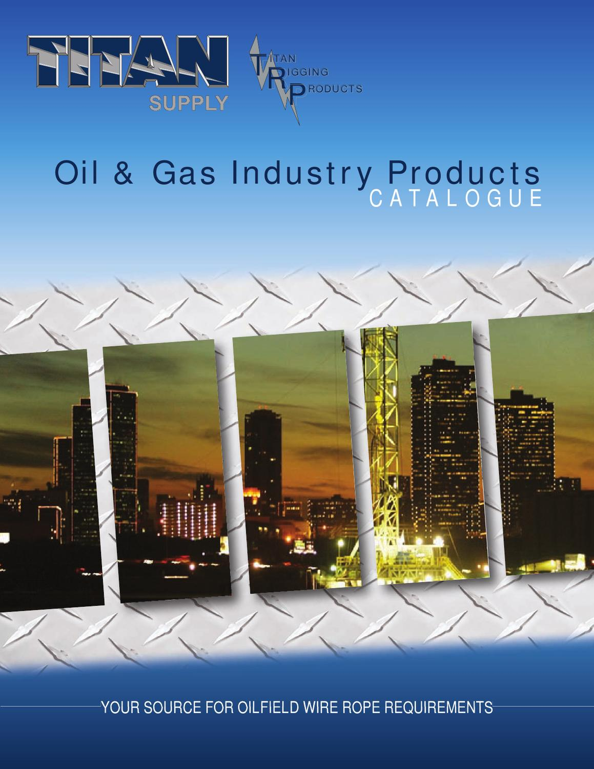 Oil & Gas Industry Products Catalogue by Teresa Brown - issuu