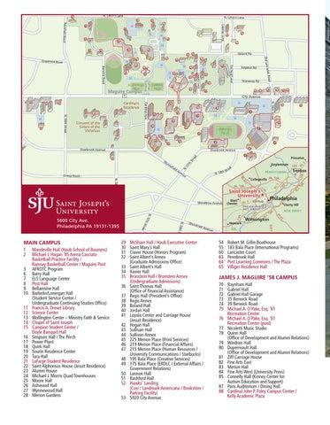 st joseph campus map St Joseph University Campus Map Map Of The World st joseph campus map