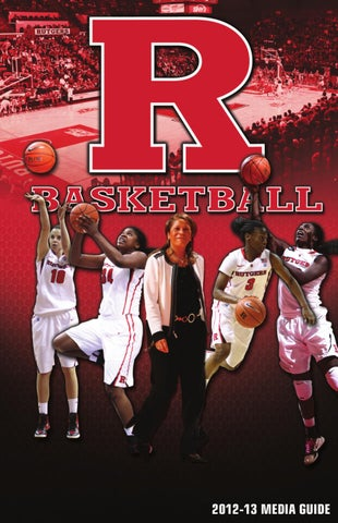 2012-13 Rutgers Women's Basketball Media Guide by Rutgers Athletics