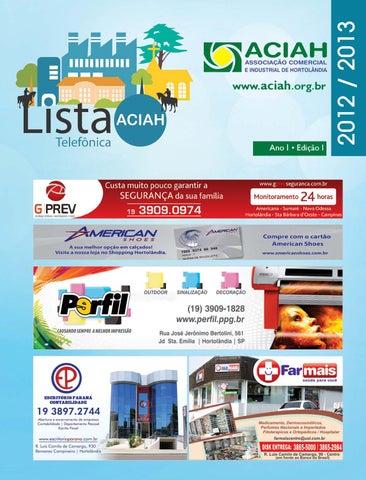 lista aciah classificados by seta regional issuu