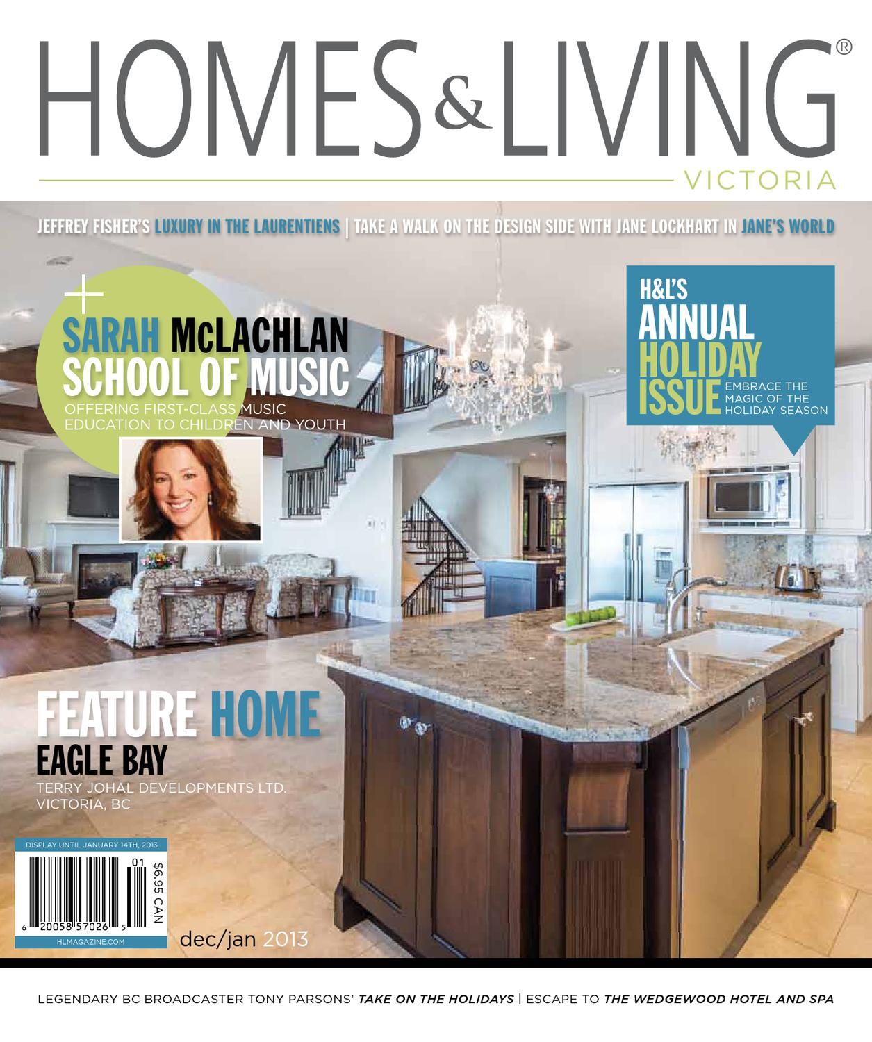 homes & living victoria dec/jan 2013 issue by homes & living