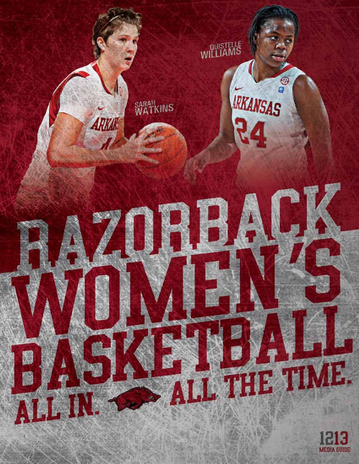 2012 13 Arkansas Women S Basketball Media Guide By