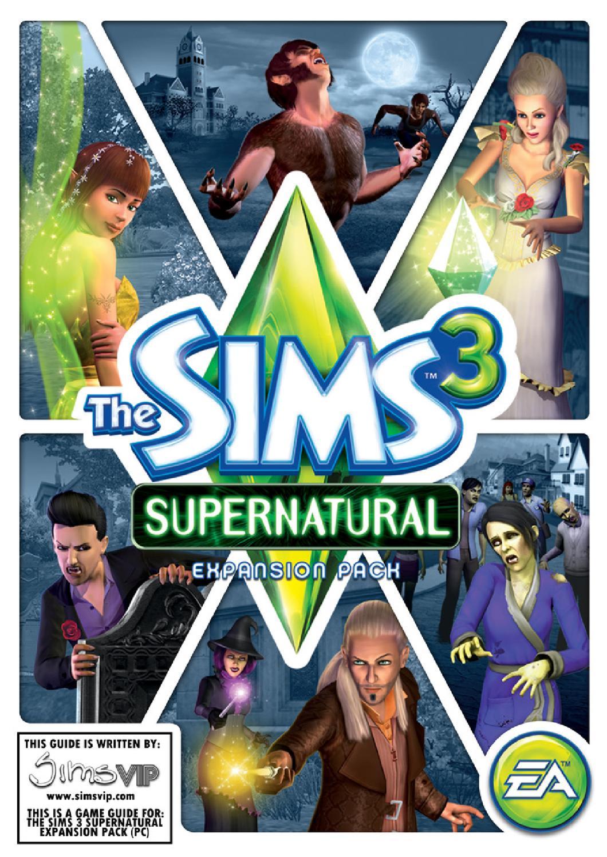 The sims 3 supernatural guide | simsvip.