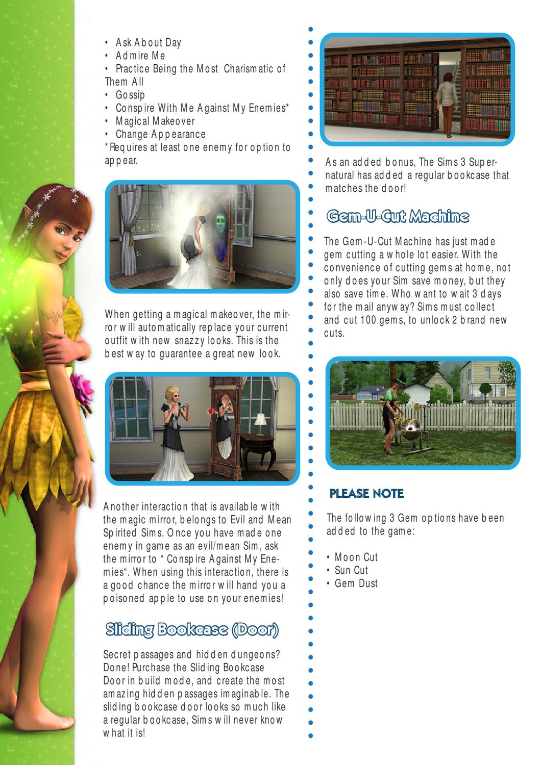 Sims 3 Supernatural Game Guide By VIP