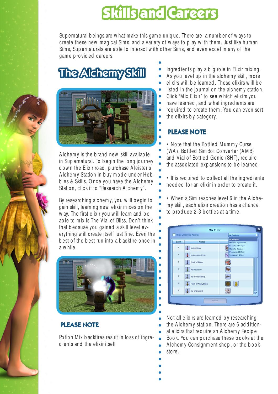 Sims 3 Supernatural Game Guide by Sims VIP - issuu