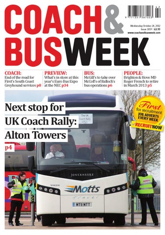 7c03cc13b6 Coach   Bus Week   Issue 1059 by Coach and Bus Week   Group Travel ...