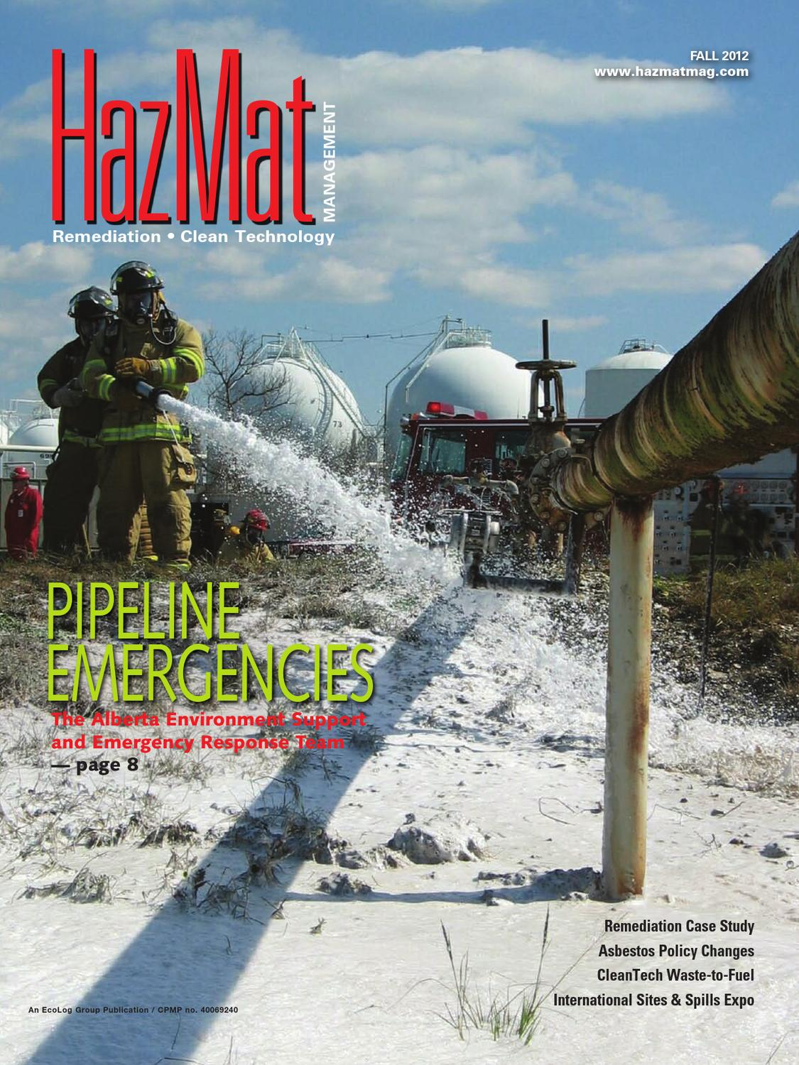 Hazardous Material Management Fall 2012 by Annex-Newcom LP - issuu