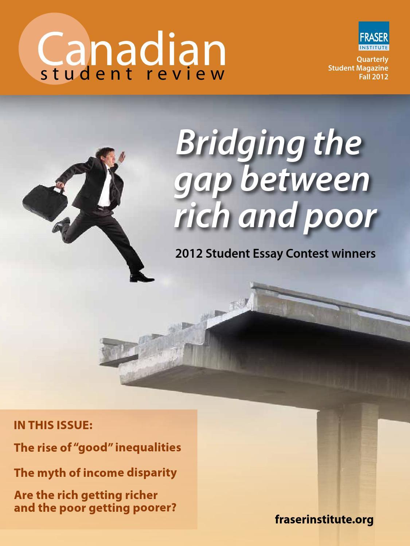fraser institute student essay contest 2011