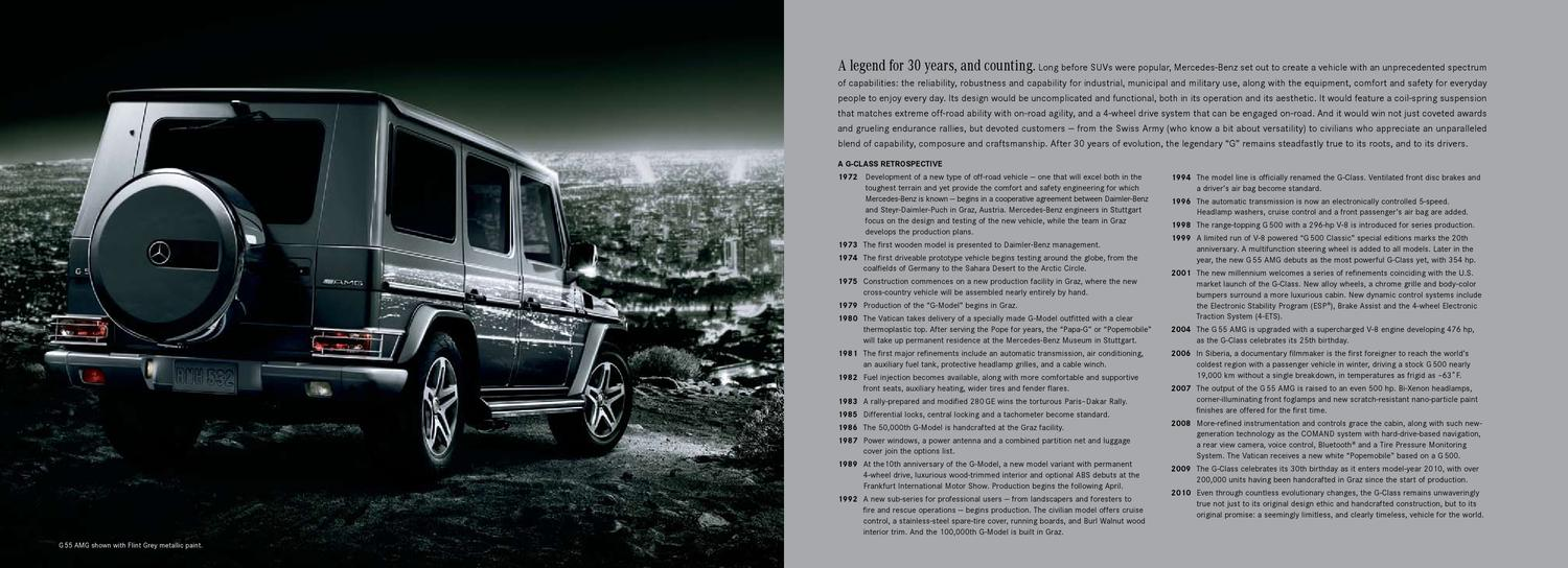 Mercedes G 463 2010 USA by Canada g - issuu