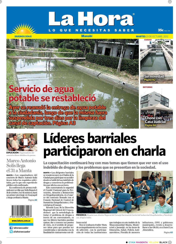 Edición impresa de Manabí del 23 de octubre de 2012 by Diario La ...