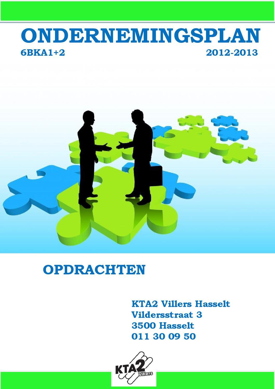 voorblad ondernemingsplan Opdrachten GIP 6BKA 2012 2013 by Ann Vanuytrecht   issuu voorblad ondernemingsplan
