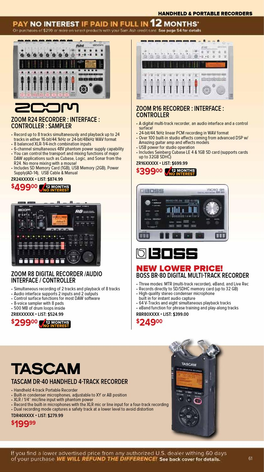Nov  2012 Gear Guide by Sam Ash Music Corp  - issuu