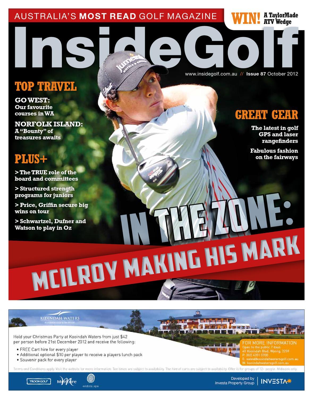 0fa7dec558aab Issue 87 Inside Golf by Inside Golf - issuu