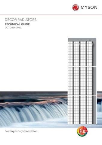 Myson Decor Radiators Technical Guide
